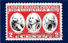 pat100563 - Battle of Yorktown Cornwallis, Yorktown Patriotic Postcard Post Card