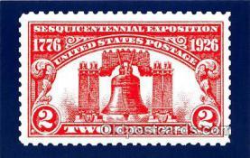 pat100564 - Liberty Bell Independence Hall, Philadelphia Patriotic Postcard Post Card