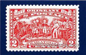 pat100565 - Burgoyne Campaign Vermont Militia, New York Patriotic Postcard Post Card