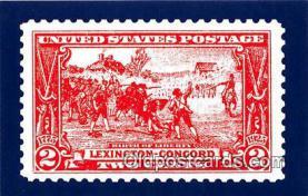 pat100567 - Birth of Liberty Stamp April 4, 1926 Patriotic Postcard Post Card
