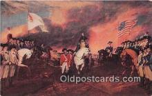 pat100573 - Surrender of Cornwallis Yorktown, Oct 19, 1781 Painting by John Trumbull Patriotic Postcard Post Card