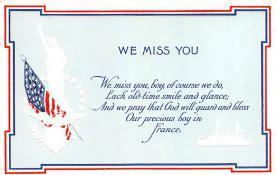 pat200007 - Patriotic Post Card Old Vintage Antique Postcard