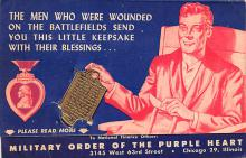 pat200031 - Patriotic Post Card Old Vintage Antique Postcard