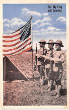 pat200087 - Patriotic Post Card Old Vintage Antique Postcard