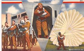 pat200101 - Patriotic Post Card Old Vintage Antique Postcard