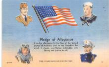 pat200113 - Patriotic Post Card Old Vintage Antique Postcard