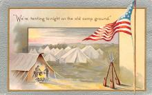 pat200235 - Patriotic Post Card Old Vintage Antique Postcard