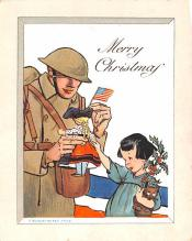pat200237 - Patriotic Post Card Old Vintage Antique Postcard
