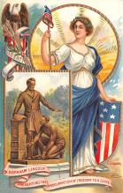 pat200259 - Patriotic Post Card Old Vintage Antique Postcard