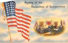 pat200273 - Patriotic Post Card Old Vintage Antique Postcard