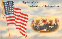 pat200275 - Patriotic Post Card Old Vintage Antique Postcard