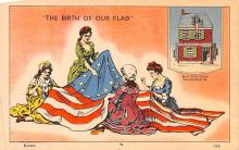 pat200281 - Patriotic Post Card Old Vintage Antique Postcard