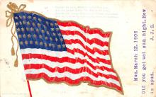 pat200331 - Patriotic Post Card Old Vintage Antique Postcard