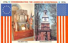 pat200713 - Colonial Post Card Old Vintage Antique Postcard