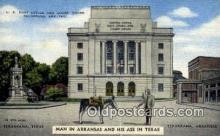 peg001005 - US Post Office, Texarkana, Ark &Texas, USA Peg Leg Postcard Postcards