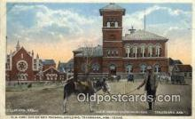 peg001006 - US Post Office, Texarkana, Ark &Texas, USA Peg Leg Postcard Postcards