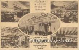 pgh000005 - Phonograph Postcard Postcards