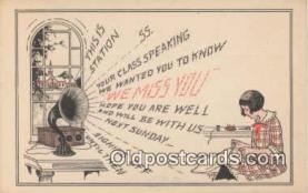 pgh000011 - Phonograph Postcard Postcards