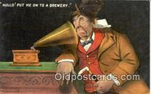 pgh001007 - Phonograph, Record Player, Postcard Postcards