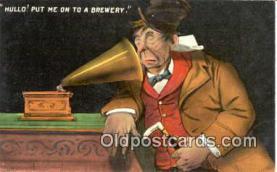 pgh001007 - Phonograph, Record Player, Postcard Postcards