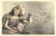 pgh001009 - Phonograph, Record Player, Postcard Postcards