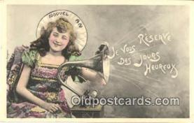 pgh001009 - Phonograph, Record Player, Postcard Postcards
