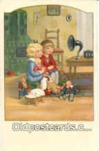 pgh001011 - Phonograph, Record Player, Postcard Postcards