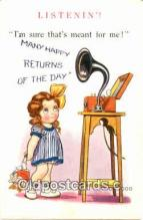 pgh001016 - Phonograph, Record Player, Postcard Postcards