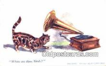 pgh001019 - Phonograph, record player, postcard, postcards