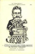pgh001035 - Galerie Bretonne, Phonograph, record player, postcard, postcards