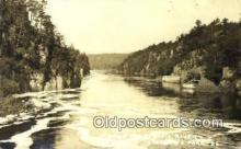 pht001162 - St. Croix River between Minnesota and Wisconsin Real Photo Postcard Postcards