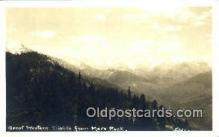 pht001206 - Moro Rock, Sequoia National Park, California, USA Real Photo Postcard Postcards