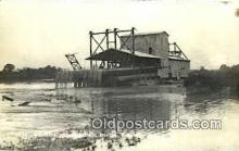pht001294 - Electrically Operated Tin Dredge, Peng Kalen UnKnown Location Real Photo Postcard Postcards