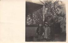 pht100104 - People and Children Photographed on Postcard, Old Vintage Antique Post Card