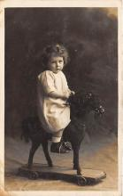 pht100201 - People and Children Photographed on Postcard, Old Vintage Antique Post Card