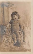 pht100204 - People and Children Photographed on Postcard, Old Vintage Antique Post Card