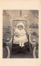pht100214 - People and Children Photographed on Postcard, Old Vintage Antique Post Card