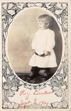 pht100280 - People and Children Photographed on Postcard, Old Vintage Antique Post Card