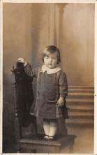 pht100379 - People and Children Photographed on Postcard, Old Vintage Antique Post Card