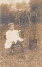 pht100704 - People and Children Photographed on Postcard, Old Vintage Antique Post Card