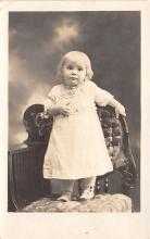 pht100706 - People and Children Photographed on Postcard, Old Vintage Antique Post Card
