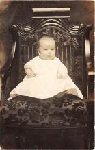 pht100725 - People and Children Photographed on Postcard, Old Vintage Antique Post Card