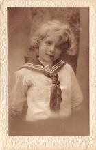 pht100726 - People and Children Photographed on Postcard, Old Vintage Antique Post Card