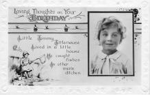pht200038 - People and Children Photographed on Postcard, Old Vintage Antique Post Card