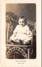 pht200067 - People and Children Photographed on Postcard, Old Vintage Antique Post Card