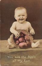 pht200079 - People and Children Photographed on Postcard, Old Vintage Antique Post Card