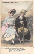 pht200097 - People and Children Photographed on Postcard, Old Vintage Antique Post Card