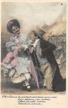 pht200392 - People and Children Photographed on Postcard, Old Vintage Antique Post Card