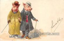 pig001076 - Postcards Post Cards Old Vintage Antique