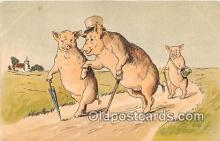 pig001077 - Postcards Post Cards Old Vintage Antique